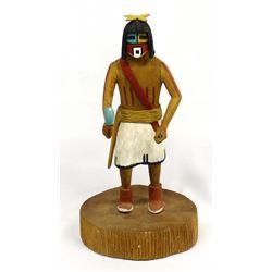 Hopi Tuma-uyi Kachina by Frank Lomavyma