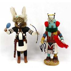 2 Native American Hopi Kachina Dolls