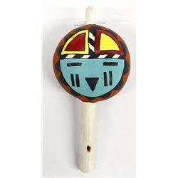 Native American Hopi Gourd Rattle