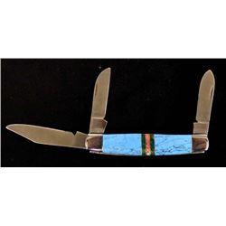 B.M.W. Solingen 3 Blade Knife