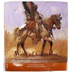 West of Camelot by Susan Hallsten McGarry, Book