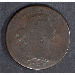 1798 LARGE CENT, VG