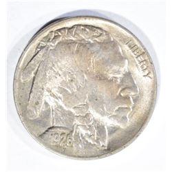 1926 BUFFALO NICKEL, CH BU