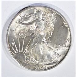 1941-S WALKING LIBERTY HALF DOLLAR, GEM BU
