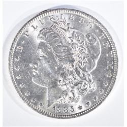 1885-O MORGAN DOLLAR, GEM BU