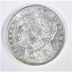 1897-O MORGAN DOLLAR, AU/BU
