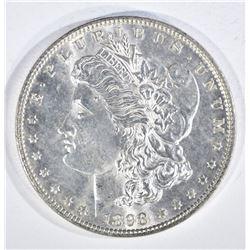 1898 MORGAN DOLLAR, CH BU PL