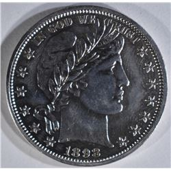 1898 BARBER HALF PROOF
