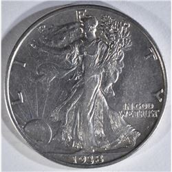 1938-D WALKING LIBERTY HALF XF+