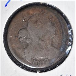 1807/6 LARGE CENT  GOOD