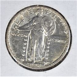 1924 STANDING LIBERTY QUARTER  CH BU