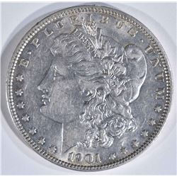 1901 MORGAN DOLLAR  AU/UNC