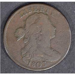 1803 LARGE CENT  FINE