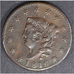 1816 LARGE CENT  AU/UNC  BROWN