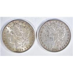 1880 & 1900-O CH BU MORGAN DOLLARS BETTER DATES