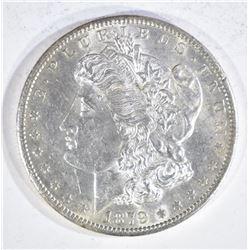 1879-S MORGAN DOLLAR, CH BU