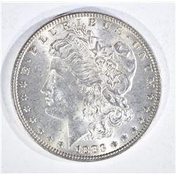 1883 MORGAN DOLLAR, CH BU+ BETTER DATE