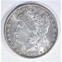 1898 MORGAN DOLLAR, GEM BU