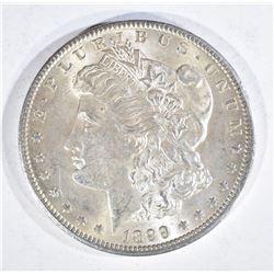 1899-O MORGAN DOLLAR, CH BU BETTER DATE