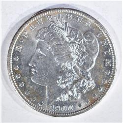 1900-O MORGAN DOLLAR, CH BU++