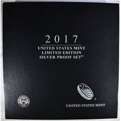 2017 LIMITED EDITION U.S. SILVER PROOF SET
