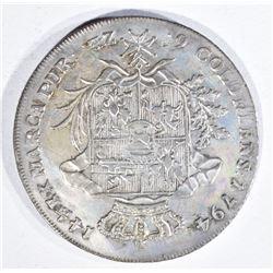 1794 POLAND 6  ZLOTYCH STANISLAUS AUGUSTUS XF/AU
