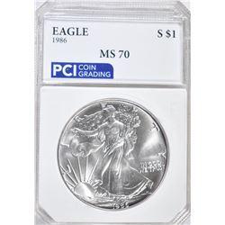 1986 AMERICAN SILVER EAGLE DOLLAR