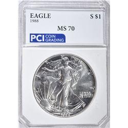 1988 AMERICAN SILVER EAGLE DOLLAR