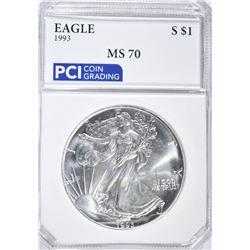 1993 AMERICAN SILVER EAGLE DOLLAR