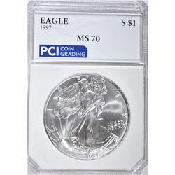 1997 AMERICAN SILVER EAGLE DOLLAR