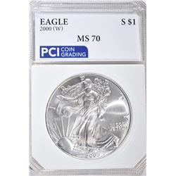 2000(W) AMERICAN SILVER EAGLE DOLLAR