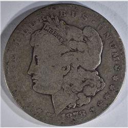 1878-CC MORGAN DOLLAR AG/G