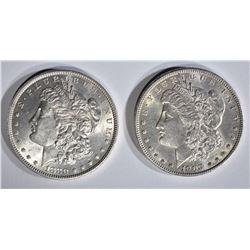 1880 & 1903 MORGAN DOLLARS BU