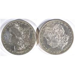 1883-P,O MORGAN DOLLARS CH BU