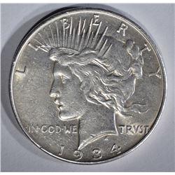 1934-D PEACE DOLLAR XF/AU