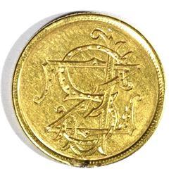 1854 GOLD $2.50 LOVE TOKEN - NICE