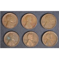 6-BETTER DATE LINCOLN CENTS
