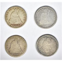 4-SEATED QUARTERS:
