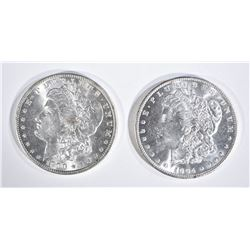 1900-O & 04-O CH BU MORGAN DOLLARS BETTER DATES