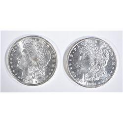1900-O & 04-O CH BU MORGAN DOLLARS BETTER DATES