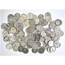 $10.00 FACE VALUE 90% SILVER DIMES