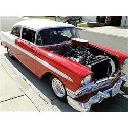 Custom 1956 Chevy Belair Prostreet Hotrod