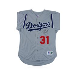 Los Angeles Dodgers Mike Piazza Autographed Jersey