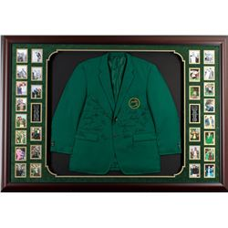 Autographed PGA Green Masters Jacket Collage