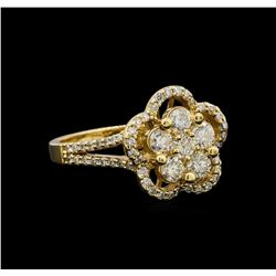 14KT Yellow Gold 1.14 ctw Diamond Ring