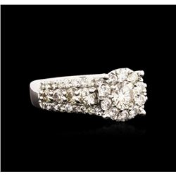14KT White Gold 2.06 ctw Diamond Ring