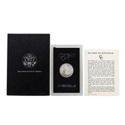 1884-CC $1 Morgan Silver Dollar Coin GSA w/ Box & COA
