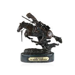 Cheyenne Bronze Replica By Frederic Remington