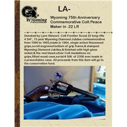 Wyo 75th Anniversary Colt Peacemaker .22 LR