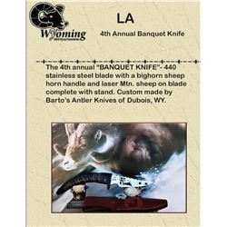 4th Annual WY-WSF Banquet Knife